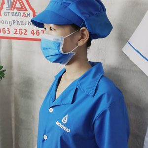 Áo blouse bác sĩ - Áo phẫu thuật loại đẹp 04