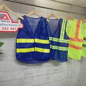 Áo gile kỹ sư phản quang hàng may sẵn giá cực rẻ 01