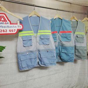 Áo gile kỹ sư phản quang hàng may sẵn giá cực rẻ 02