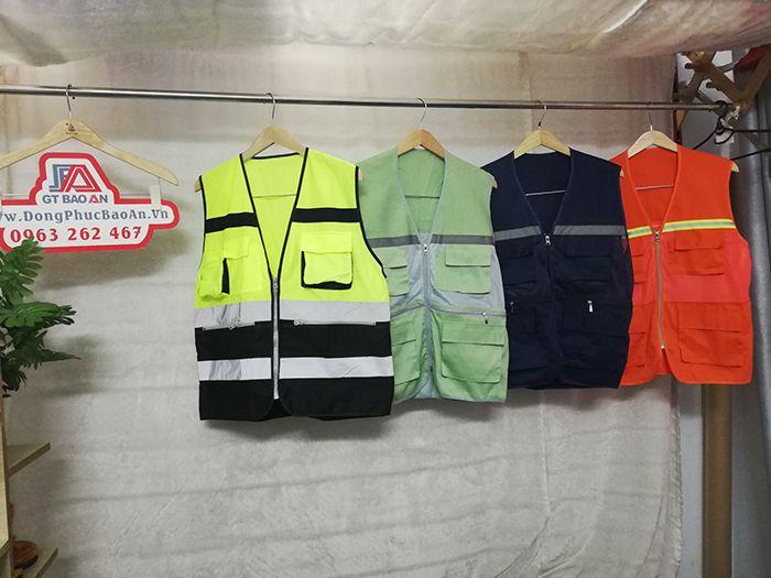 Áo gile kỹ sư phản quang hàng may sẵn giá cực rẻ 03