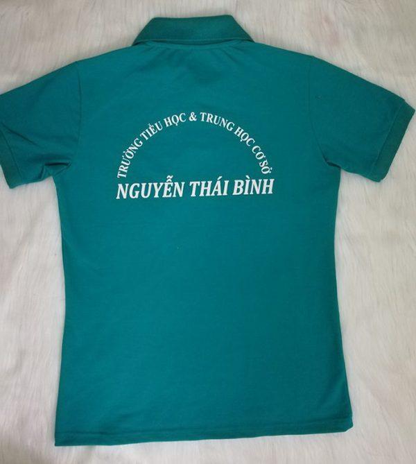 Áo thun đồng phục giáo viên trường Nguyễn Thái Bình 03