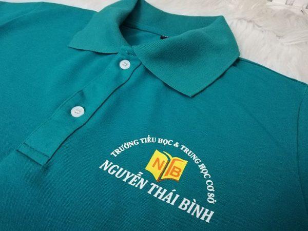 Áo thun đồng phục giáo viên trường Nguyễn Thái Bình 04
