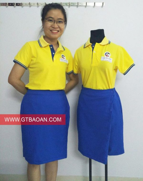 Bộ đồng phục cô giáo - giáo viên mầm non 01
