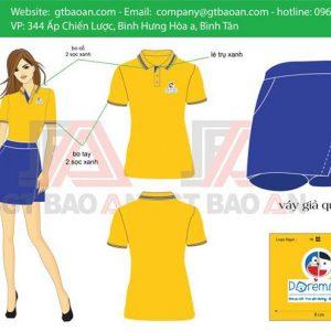 Bộ đồng phục cô giáo - giáo viên mầm non 02