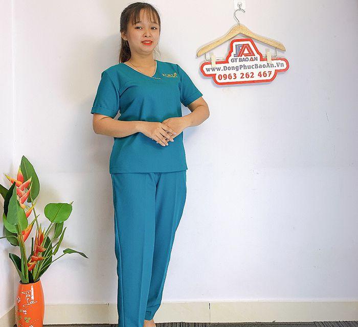 Đồng phục Spa Dr Kim Đẹp - Thẩm mỹ viện hàn quốc 01