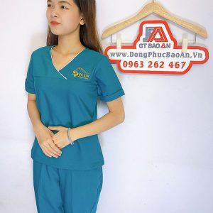 Đồng phục Spa Dr Kim Đẹp - Thẩm mỹ viện hàn quốc 02