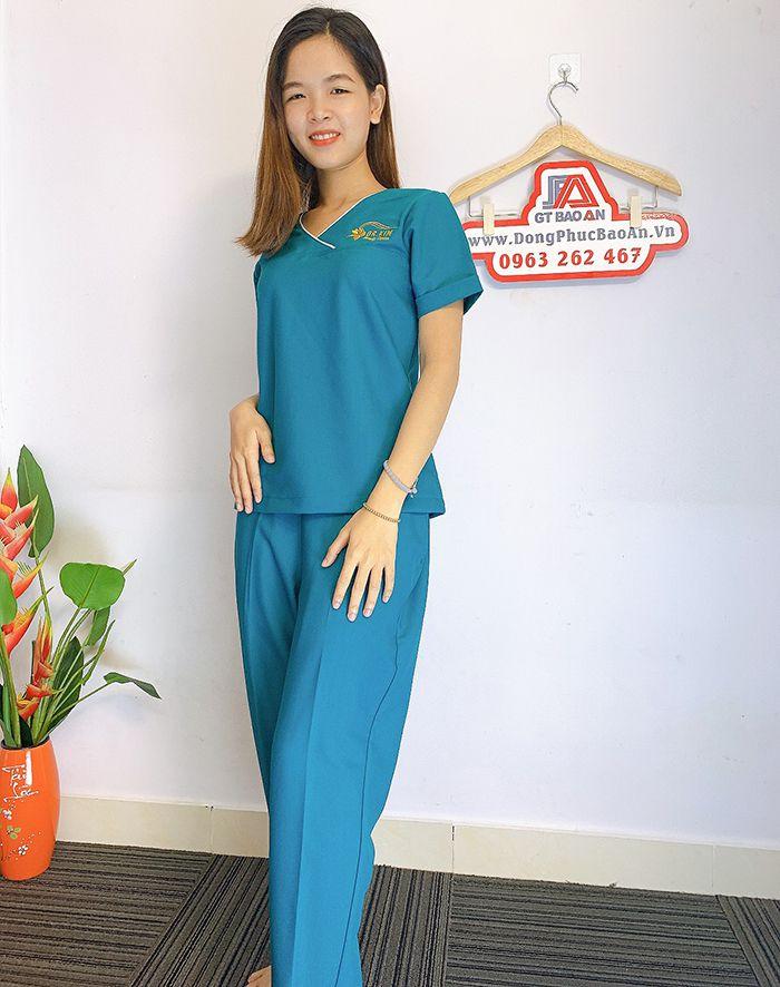 Đồng phục Spa Dr Kim Đẹp - Thẩm mỹ viện hàn quốc 03