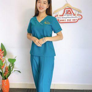 Đồng phục Spa Dr Kim Đẹp - Thẩm mỹ viện hàn quốc 04