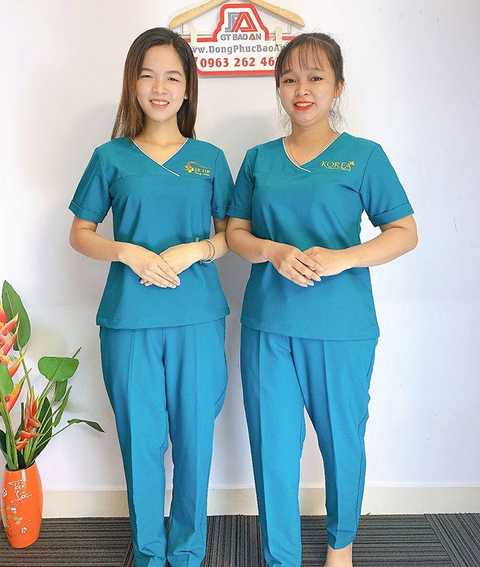 Đồng phục Spa Dr Kim Đẹp - Thẩm mỹ viện hàn quốc 05