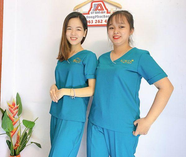 Đồng phục Spa Dr Kim Đẹp - Thẩm mỹ viện hàn quốc 06
