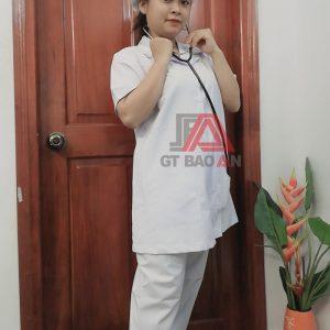 Đồng phục y tá, học sinh trường y khoa may sẵn giá cực rẻ 03