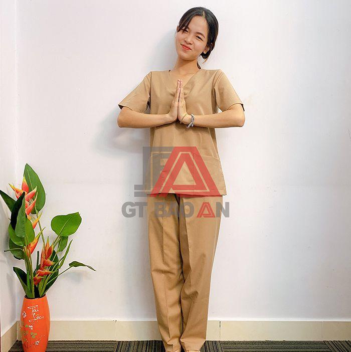 Mẫu đồng phục spa, massage đẹp nhất và hot nhất hiện nay 03