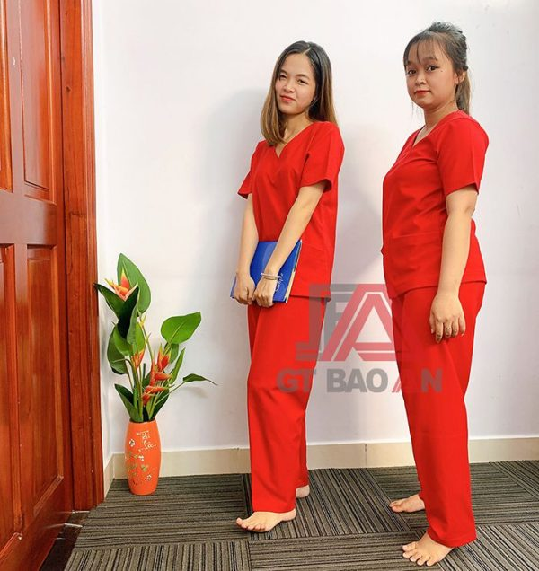 Mẫu đồng phục spa, massage đẹp nhất và hot nhất hiện nay 06