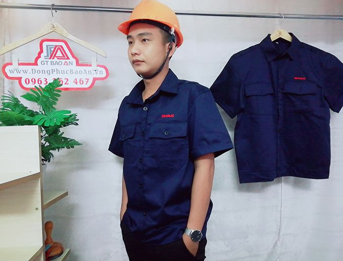 May áo bảo hộ công nhân xây dựng, cơ khí chất lượng 03