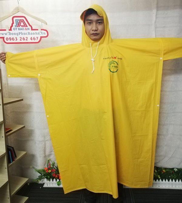 May áo mưa cánh dơi quà tặng cao cấp Y&M group 02