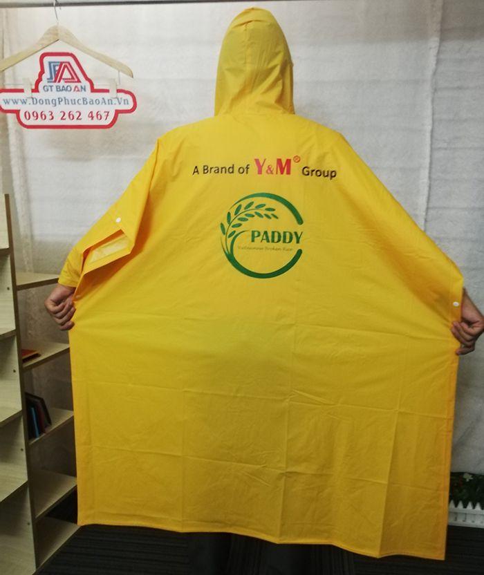 May áo mưa cánh dơi quà tặng cao cấp Y&M group 03