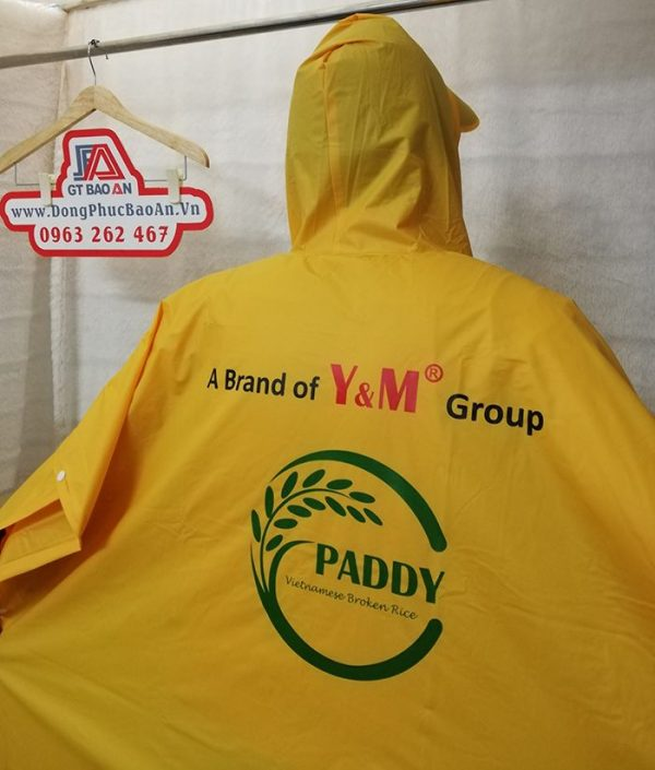 May áo mưa cánh dơi quà tặng cao cấp Y&M group 04