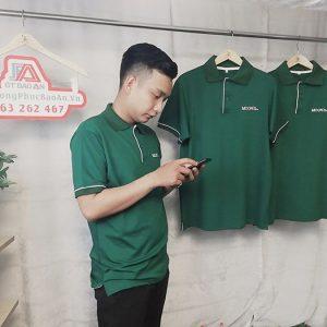 May áo thun đồng phục công ty, quán cafe - Moon 03