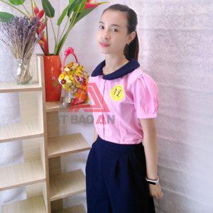 May đồng phục cô giáo trường học Thanh Bình giá tại xưởng 03