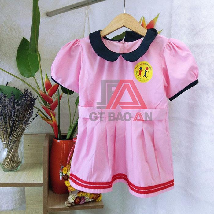 May đồng phục cô giáo trường học Thanh Bình giá tại xưởng 04