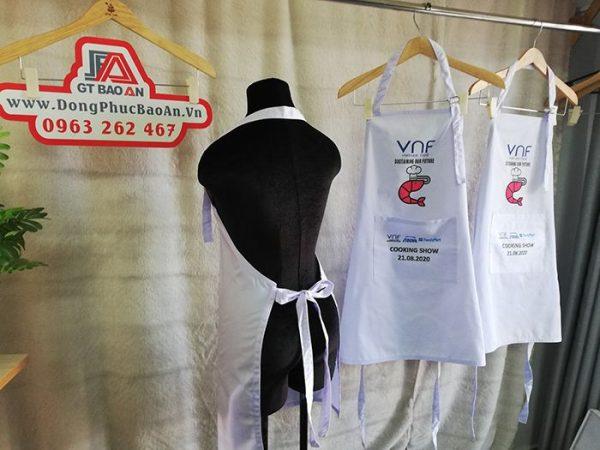 May tạp dề công ty cổ phần Việt Nam Food (VNF) 02