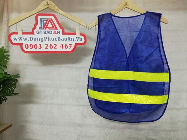 Áo lưới phản quang lưng thun màu bích giá rẻ mã M4