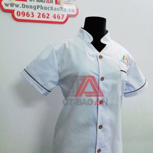 áo bếp đồng phục