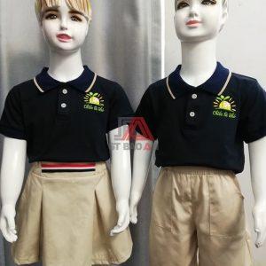 Bộ đồng phục đẹp cho trẻ em mầm non giá rẻ 02