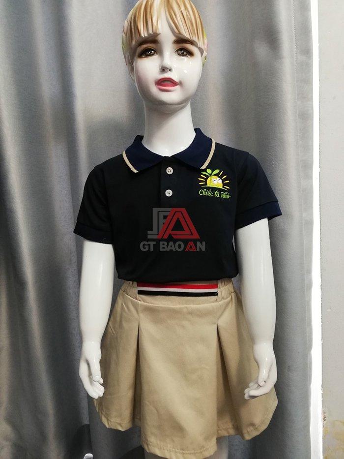 Bộ đồng phục đẹp cho trẻ em mầm non giá rẻ 04