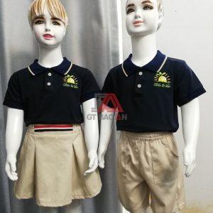 Bộ đồng phục đẹp cho trẻ em mầm non giá rẻ 05