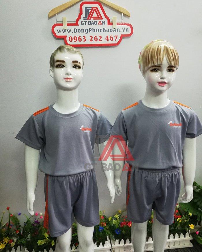 đồng phục mầm non trẻ em