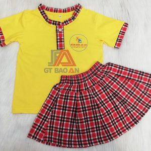 Đồng phục trẻ em mầm non cho bé trường An An 03