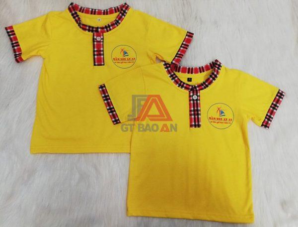 Đồng phục trẻ em mầm non cho bé trường An An 04
