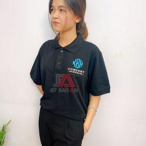Mẫu áo thun công sở đồng phục công ty chuyên nghiệp