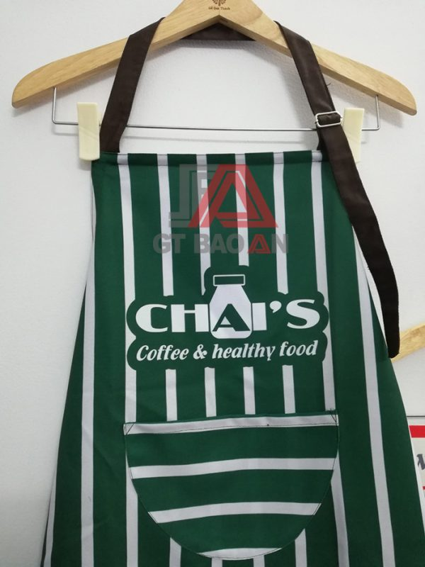 Tạp dề quán café CHAI'S Coffee & Health Food