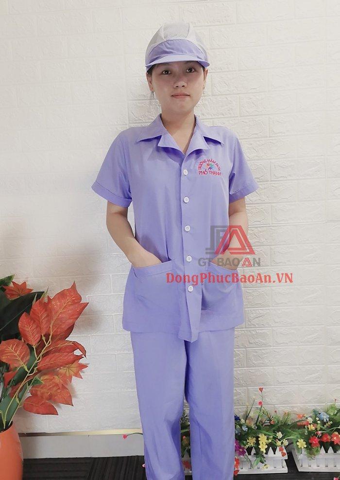 đồng phục cấp dưỡng đẹp giá tốt