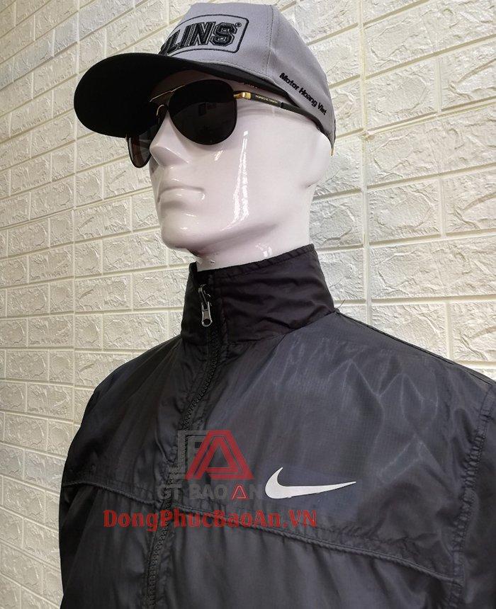 mẫu áo khoác unisex áo gió may sẵn