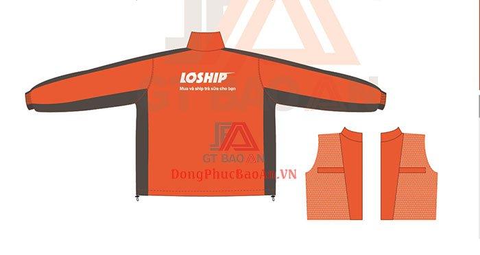 Xưởng May Áo Khoác Đồng Phục Bình Tân - Áo gió đồng phục LOSHIP