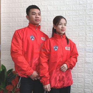 Mẫu Áo Khoác Đồng Phục Sự Kiện, Quảng Cáo – HTV Challenge Cup 2020