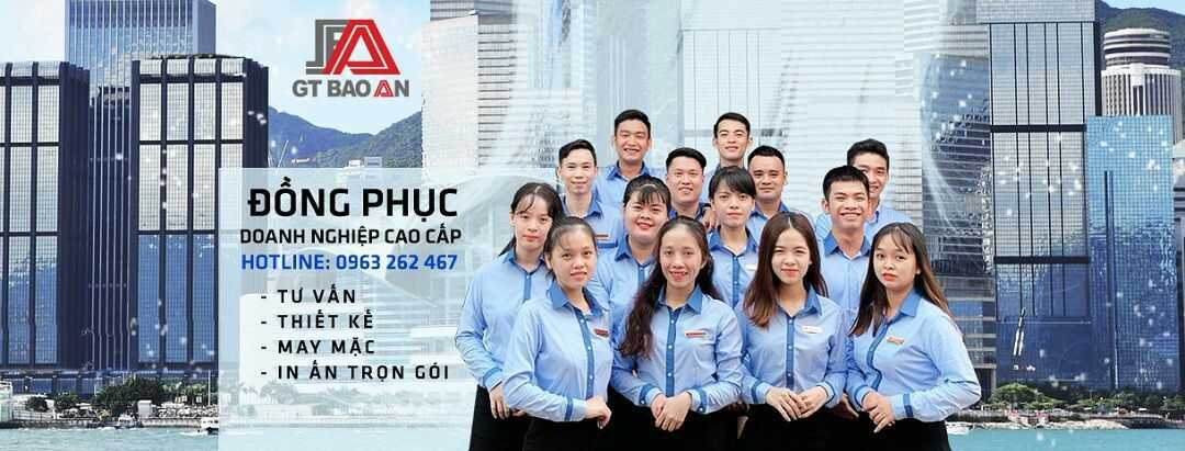 banner dong phuc cong ty