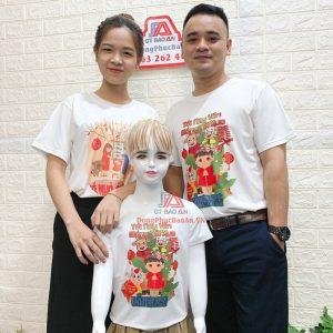 [HOT DEAL] Combo 3 Áo Thun Gia Đình Đón Xuân Tân Sửu 2021 Chỉ 127K