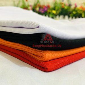 Mẫu Áo Phông Họp Lớp Kỷ Niệm Ngày Ra Trường Màu Đen – Vải dệt Adidas Cao Cấp