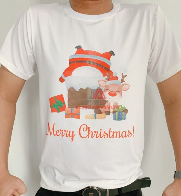 Mẫu Áo Thun Noel, Áo Phông Giáng Sinh Ông Già Noel Tuần Lộc 2020