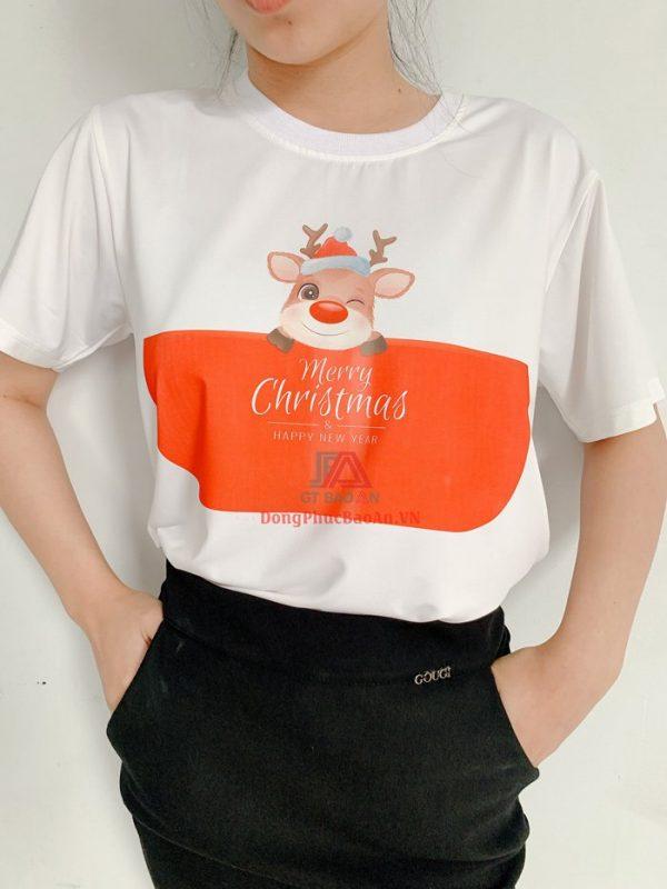 10+ Mẫu Áo Thun Noel Unisex Đẹp Chất, Tưng Bừng Đón Giáng Sinh