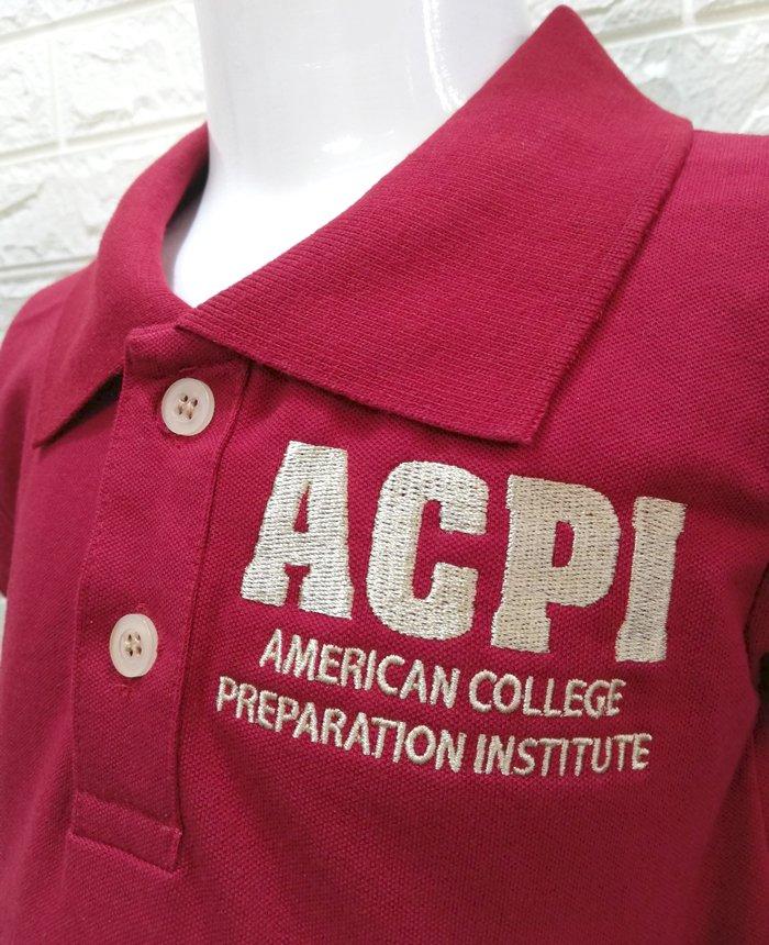 Mẫu Đồng Phục Trung Tâm Anh Ngữ Tri Thức Việt Mỹ ACPI Cho Trẻ Em