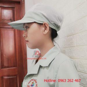 Mũ Vải Bao Tóc Lưới Y Tế – Mũ Dành Cho Nhân Viên Nấu Bếp Trường Học