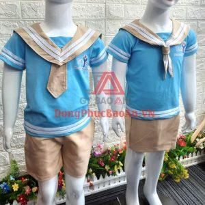Mẫu Bộ Đồng Phục Trường Mầm Non Quốc Tế Kiểu Hải Quân – Taiyo Montessori
