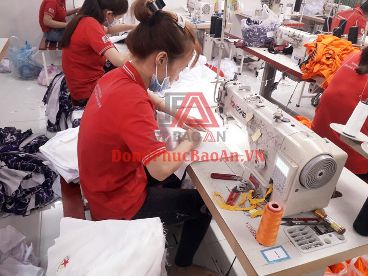 Xưởng May Đồng Phục Công Ty TPHCM Quận Bình Tân Giá Rẻ