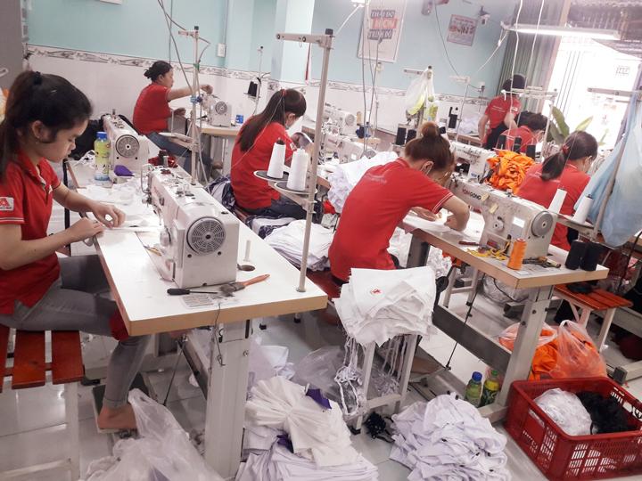 Xưởng May Đồng Phục Học Sinh Tại Đà Nẵng – Hải Châu   GT Bảo An