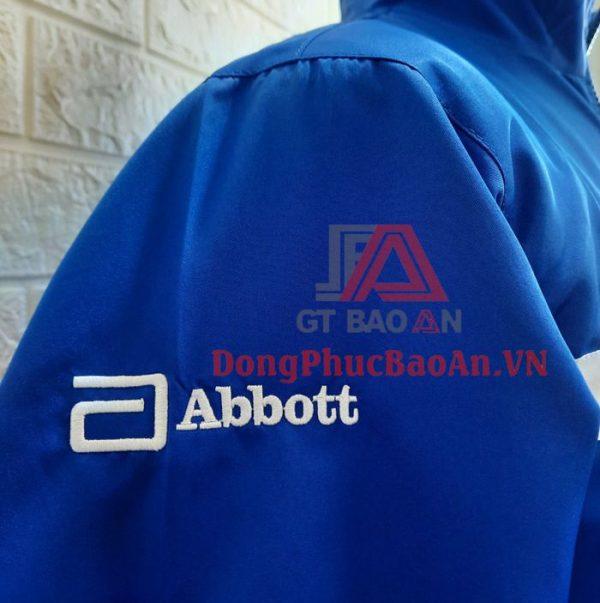 Mẫu Áo Khoác Dù Đồng Phục Phối Lưới Bên Trong Theo Yêu Cầu – Abbott Việt Nam